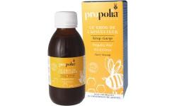 Sirop au gorge au miel, thym, et propolis