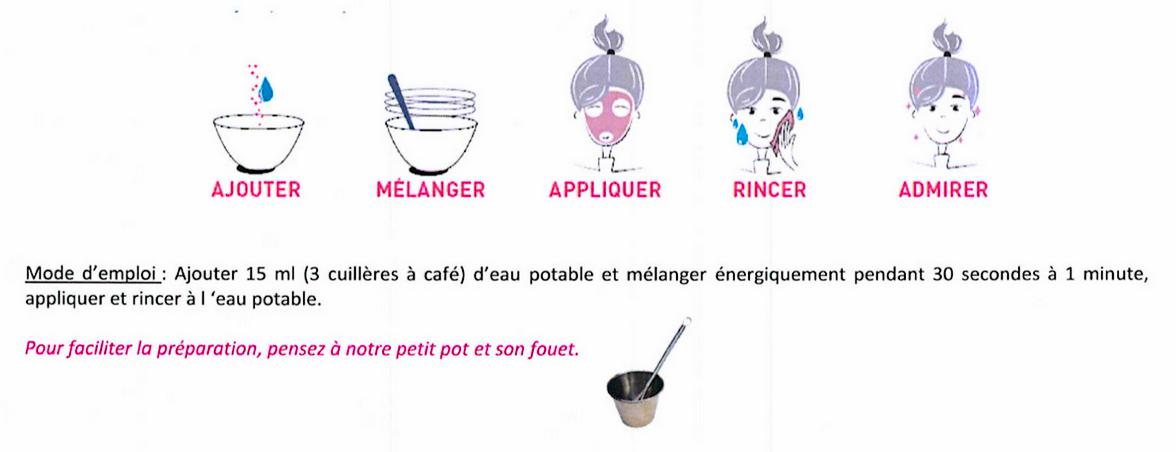 Imagini pentru Secrets des Fees masque hydratant