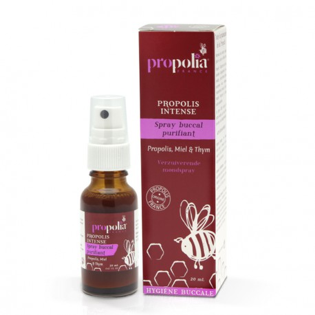 Spray Buccal purifiant - Propolis/Miel/Thym